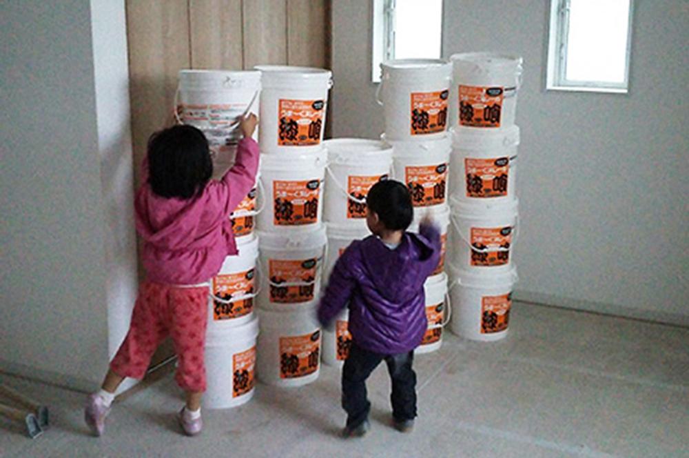 うま~くヌレール・念願かなった漆喰壁のマイホーム。