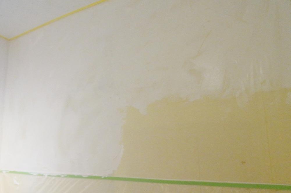 漆喰・クロス剥がし・作品賞・優秀賞①・パン屋さんの店内を店主が漆喰リフォーム!